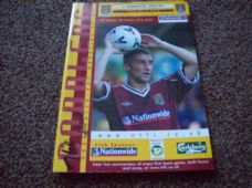 Northampton Town v Tranmere Rovers, 2001/02